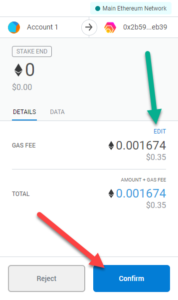 07 confirm metamask transaction